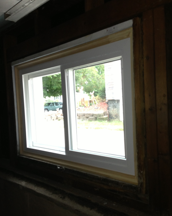 basement replacement window installation photos downers grove il