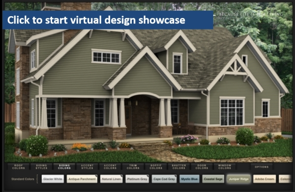 Online Virtual Siding Options Designer Showcase